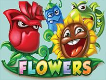 Азартный игровой автомат Flowers от NetEnt